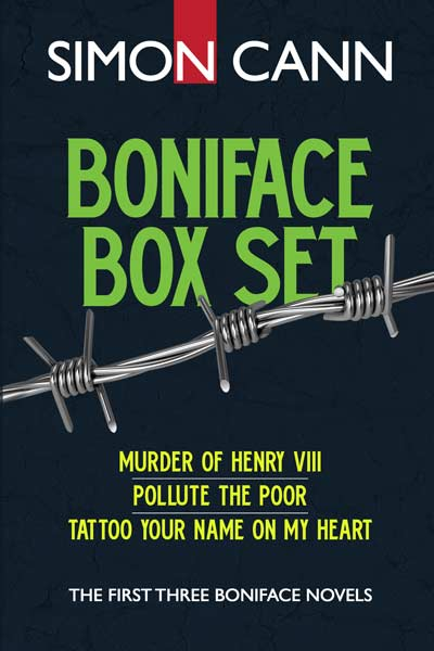 Boniface box set: the first three Boniface novels by Simon Cann