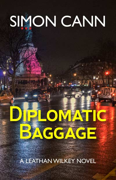 Diplomatic Baggage available for pre-order by Simon Cann