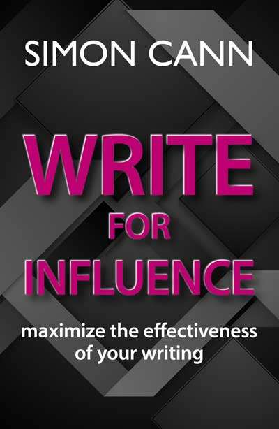 Write for Influence published by Simon Cann