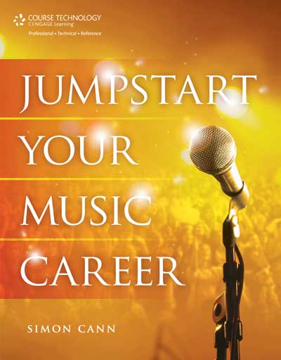 Jumpstart Your Music Career published by Simon Cann